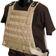 Plate Carrier Vest in Tan