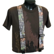 Hunting Suspenders in high-definition camouflage